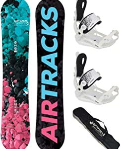 AIRTRACKS Snowboard Para Mujer (Paquete Completo)